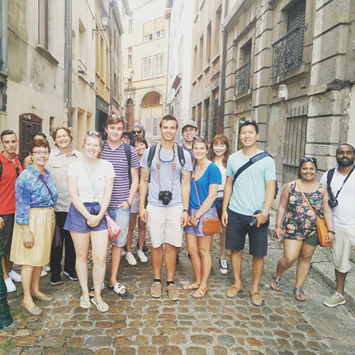 Photo of the group of Free Tour Lyon